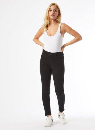 Black Alex Skinny Denim Jeans