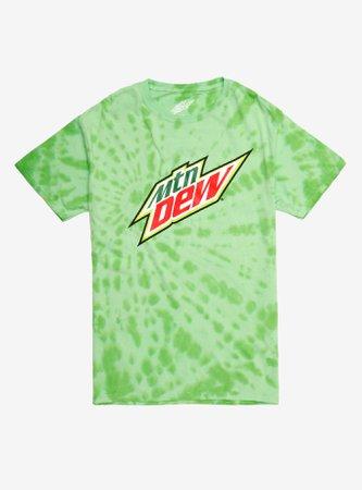 Mountain Dew MTN DEW Tie-Dye T-Shirt