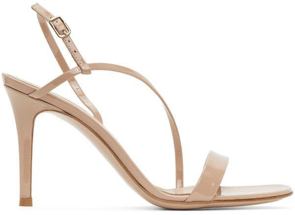 Pink Manhattan 105 Heeled Sandals