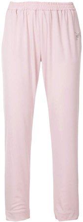 Roarguns elasticated waist tapered trousers