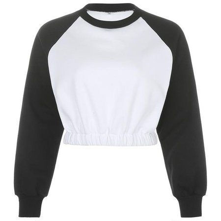 Raglan Crop Sweatshirt | Own Saviour