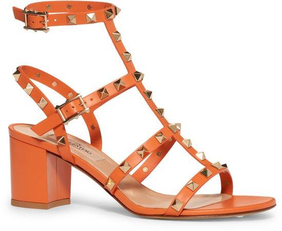 Garavani Rockstud Ankle Strap Sandal