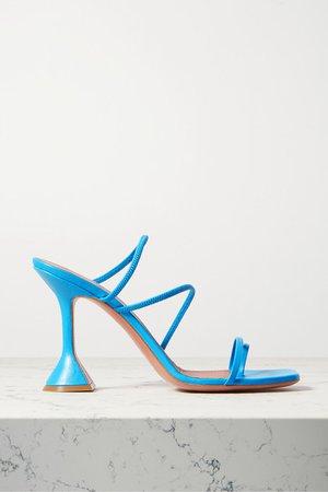 Naima Leather Sandals - Blue