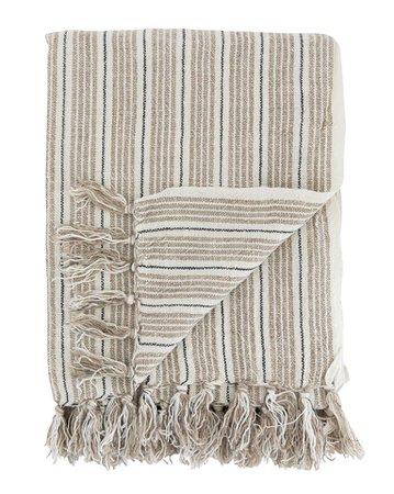 Neutral Stripe Throw – McGee & Co.