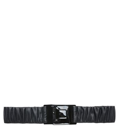 CKontova Black Faux Leather Elastic Belt < ΒΡΑΔΙΝΕΣ ΕΜΦΑΝΙΣΕΙΣ | aesthet.com