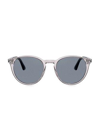 Persol Persol 52MM Round Sunglasses   SaksFifthAvenue