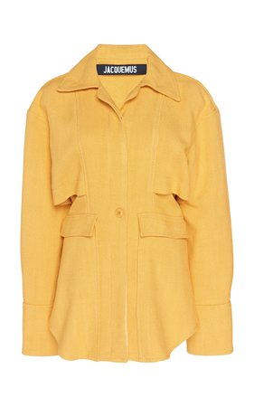 Jacquemus La Veste Bergamo Cotton-Twill Jacket