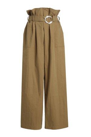 Wide Leg Pants with Cotton Gr. UK 12