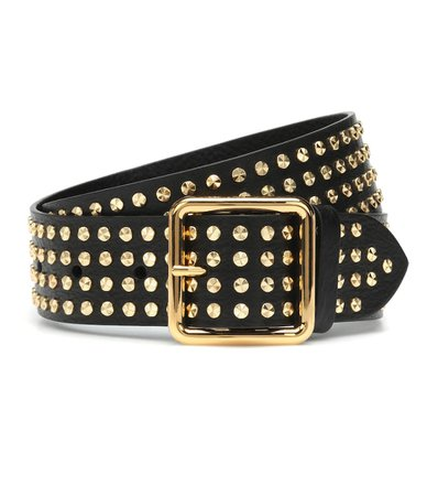Studded Leather Belt - Alexander McQueen | Mytheresa