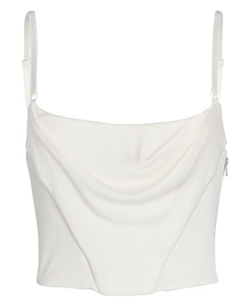 Alexander Wang Draped Corset Tank Top | INTERMIX®