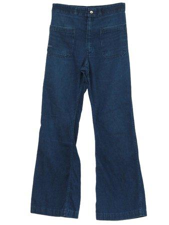 Seafarer 1970s Vintage Bellbottom Pants