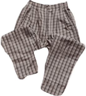 plaid pyjama pants