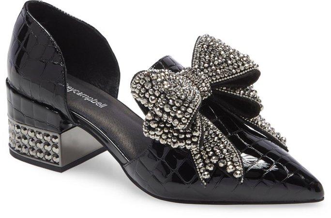 Valenti Embellished Bow Loafer