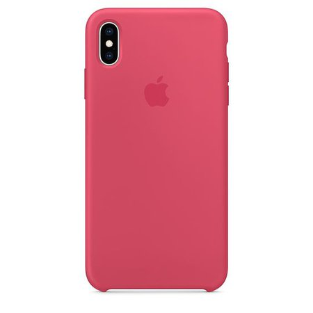 pink Silicone Case for iPhone XS Max