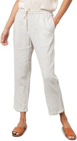 Linden Tie Waist Crop Pants