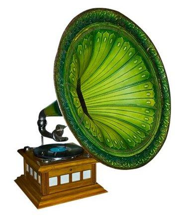 Green Phonograph