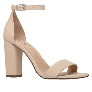 Nude Sandal Heel