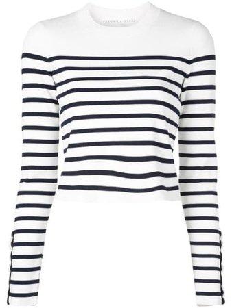 Veronica Beard Jersey Con Motivo De Rayas - Farfetch