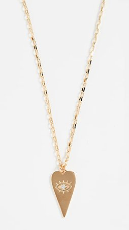 Shashi Eye Love You Necklace | SHOPBOP
