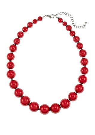 Kim Rogers® Short Graduated Beaded Necklace | belk