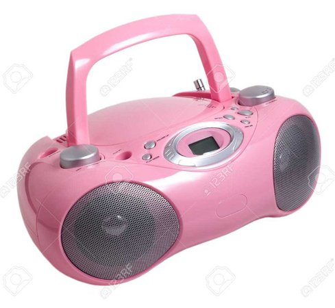 pink mp3 stereo