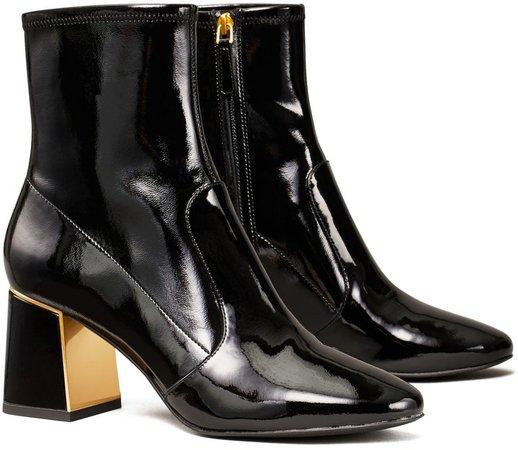Gigi Patent High-Heel Stretch Boot