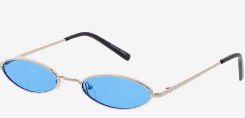 Sky Blue Micro Sunglasses