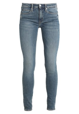 Calvin Klein Jeans MID RISE SKINNY - Jeans Skinny Fit