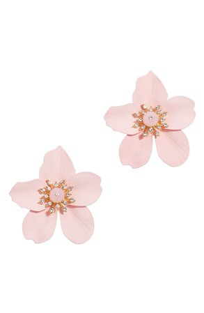 Lilly Pulitzer® Oversize Orchid Earrings | Nordstrom