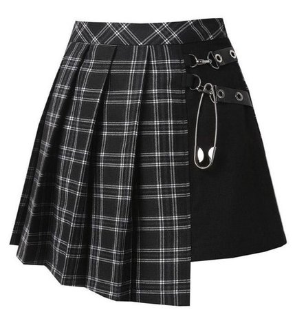 black egirl skirt
