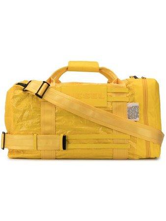 Diesel sporty detailing duffel bag