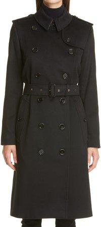 Kensington Cashmere Trench Coat