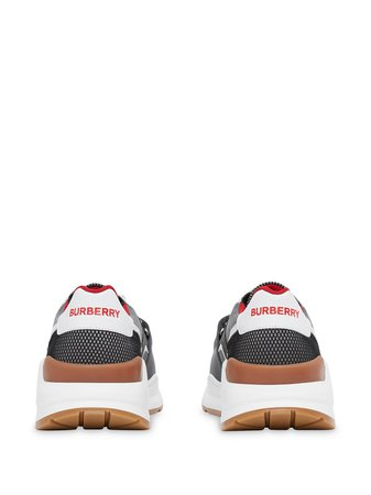 Burberry Logo Strap Low-Top Sneakers Ss20 | Farfetch.com