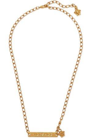 Versace | Gold-tone necklace | NET-A-PORTER.COM