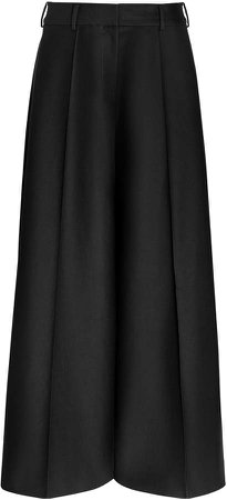 Selma Wide-Leg Cotton Pants