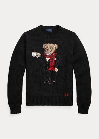 Cocoa Polo Bear Sweater