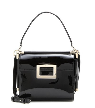 Miss Viv' Carré Small patent leather shoulder bag