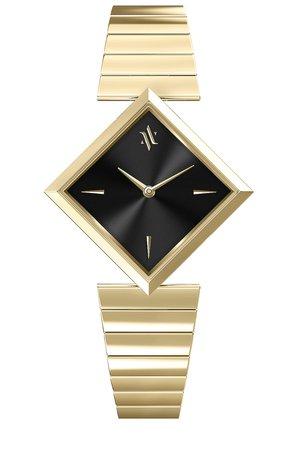 VANNA Luna Watch in Gold & Jet-Black | REVOLVE