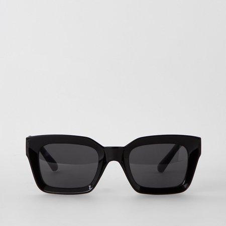 Black glam smoke lens sunglasses - Oversized Sunglasses - Sunglasses - women
