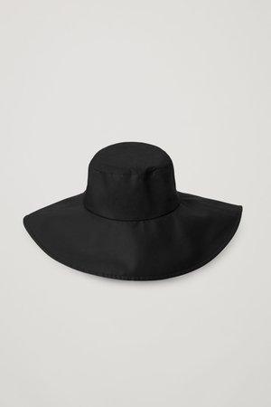 SUN HAT - black - Hats - COS WW