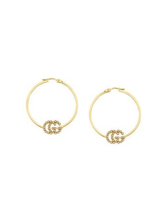 Gucci GG Running earrings with diamonds, small $2,700 - Buy Online - Mobile Friendly, Fast Delivery, Price