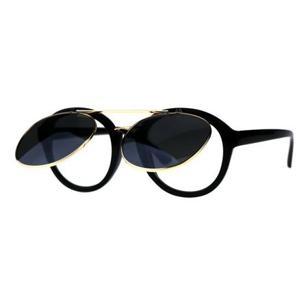 Flip Up Rounder Sunglasses