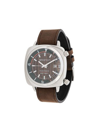 Briston Watches Clubmaster Diver Yachting Watch Ss20 | Farfetch.com