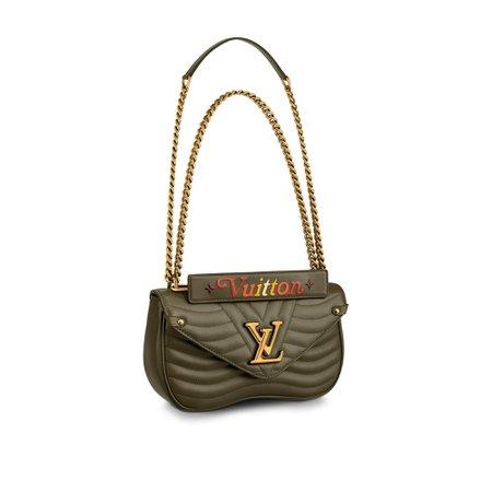 Louis Vuitton New Wave Chain Bag MM LV New Wave Leather - Handbags   LOUIS VUITTON ®