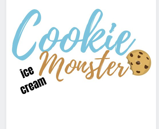 created by looksbylyla- Cookie Monster ice cream