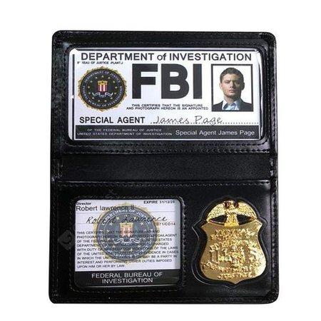 fbi badge wallet - Google Search