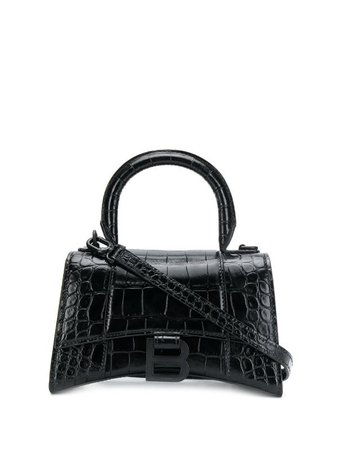 Balenciaga Hourglass XS Top Handle Bag | Farfetch.com