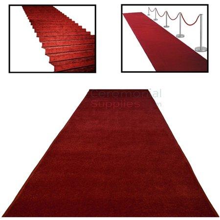 Deluxe Ceremonial Red Carpet   ceremonialsupplies.com