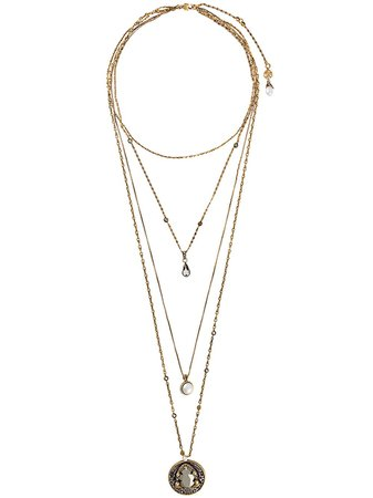 Alexander McQueen Multi Chain Necklace - Farfetch