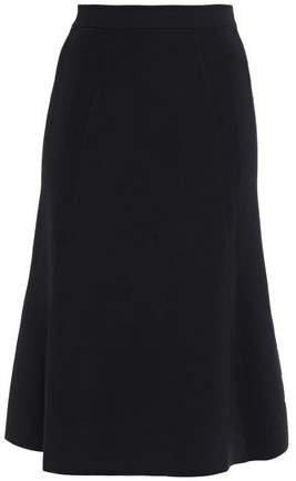Flared Stretch-knit Skirt